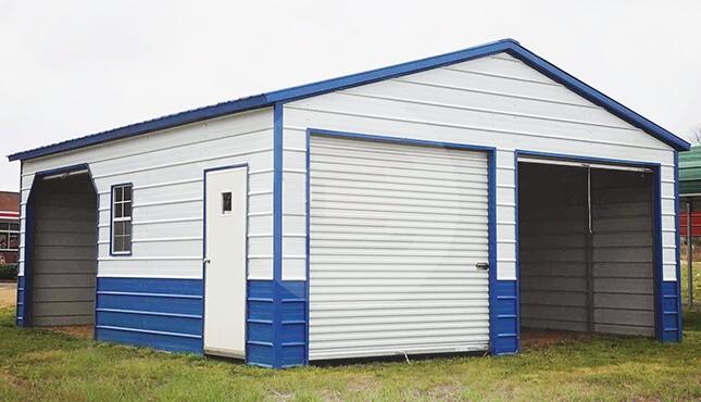 metal garages for sale steel carport rv garage building prices online. Black Bedroom Furniture Sets. Home Design Ideas