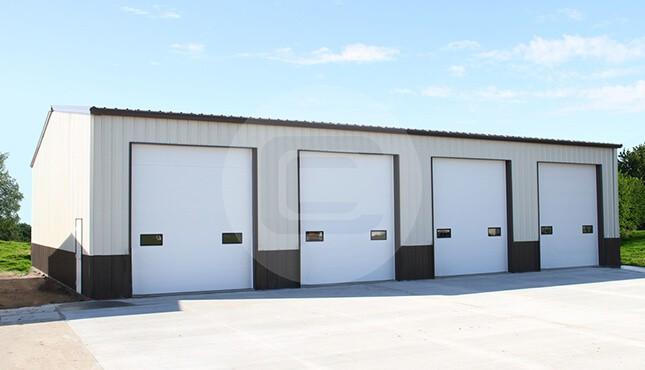 30×56 Prefab Workshop Building