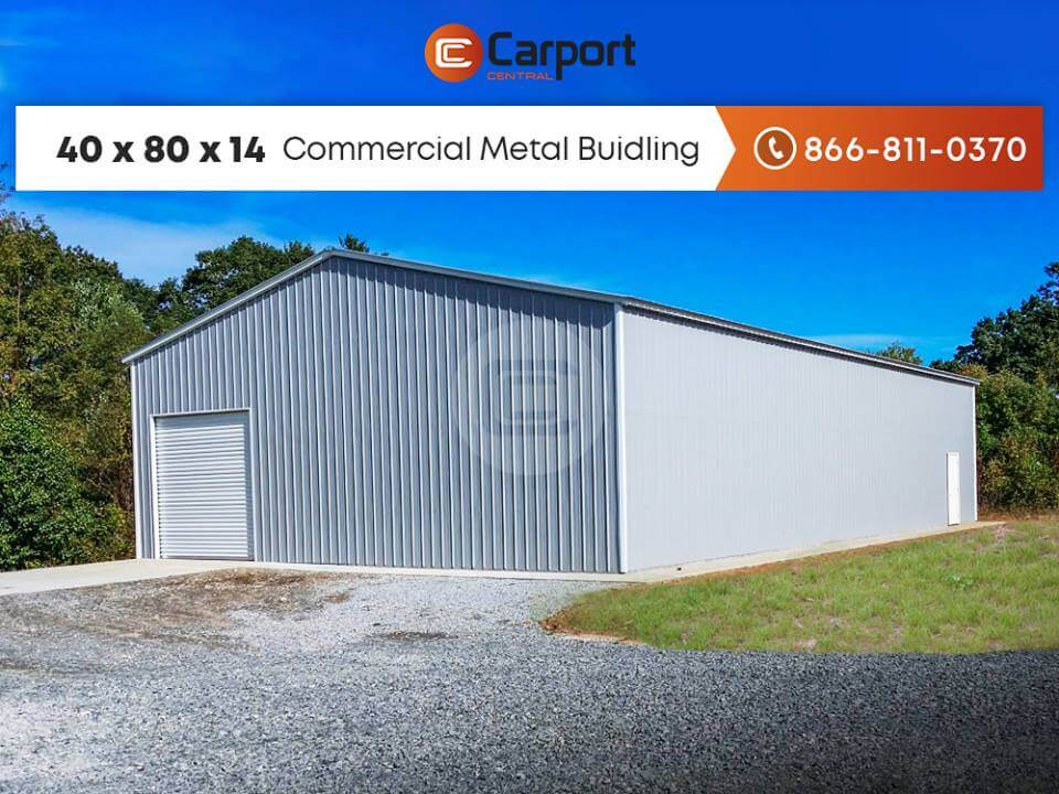 40x80 Prefab Steel Building (2)