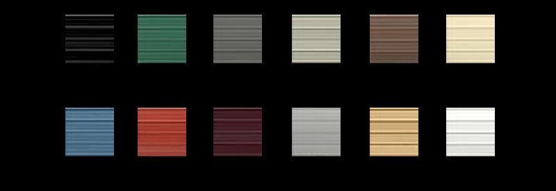 Garage Building Color Option
