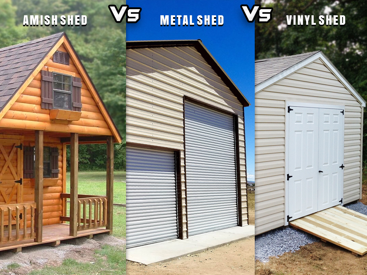 types of multipurpose storage sheds