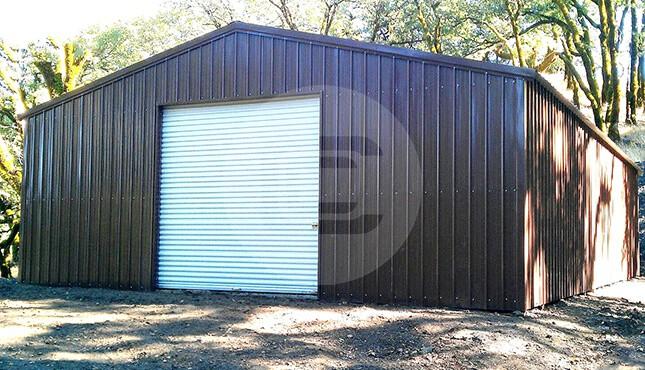 30×41 All Vertical Garage