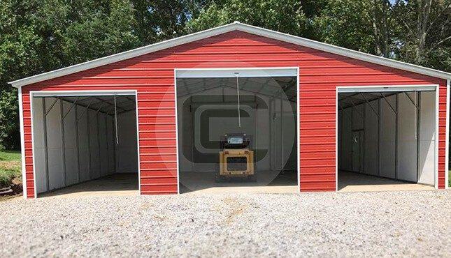 36x36 barn garage farm vehicle garage for 36 x 36 garage