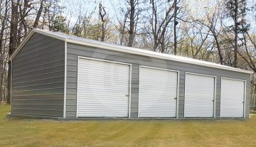 Four Car Garage Building - 22x45