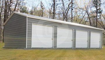 Four Car Garage Building - 22x45