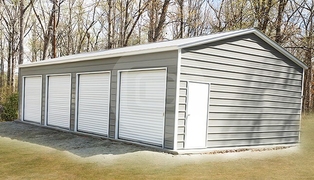 Four Car Garage Building – 22×45