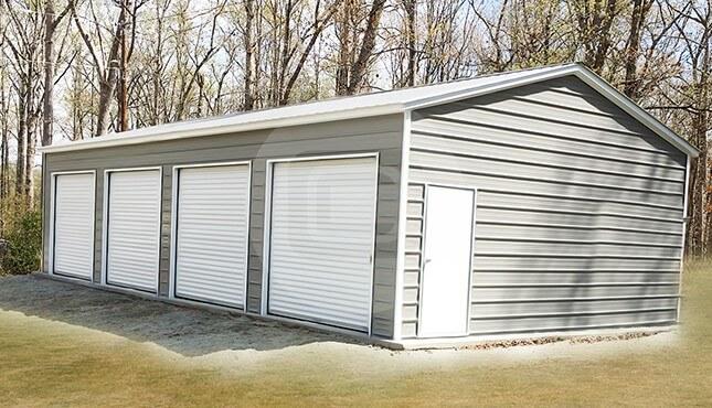 Four Car Garage Building – 22×45