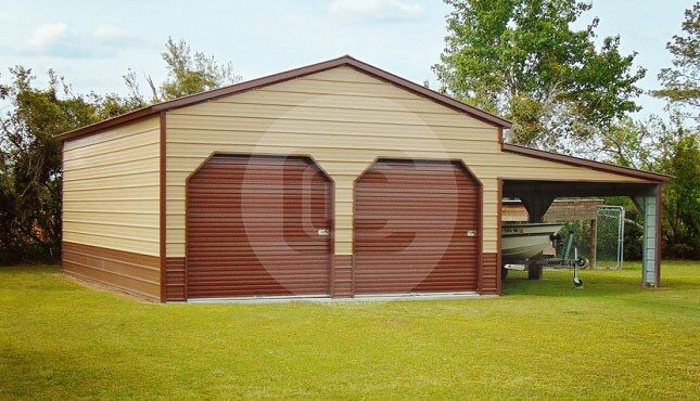 22x31x11-garage-for-two-cars-front