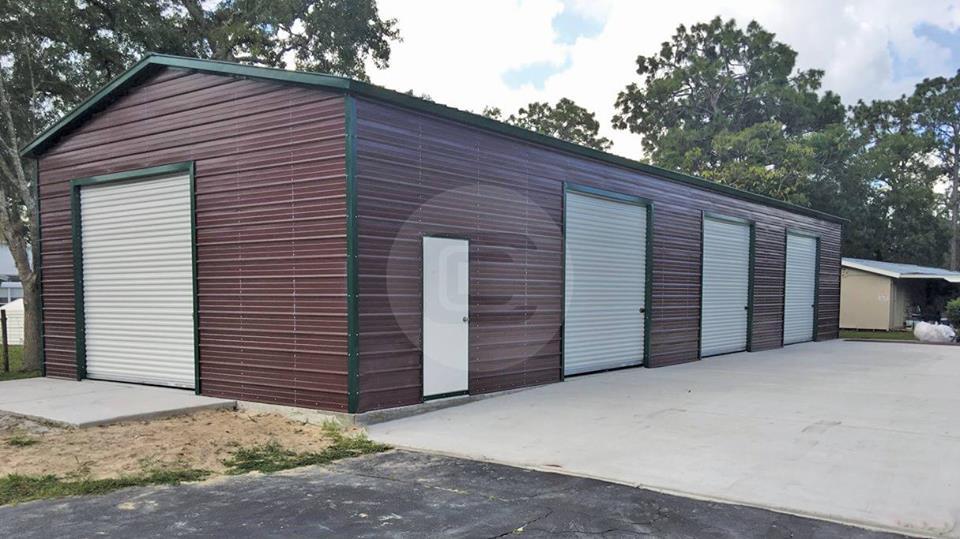 24x50 Side Entry Garage Workshop