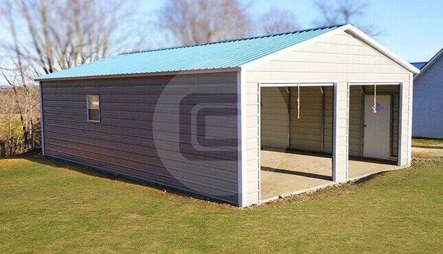 24x50 Prefab Metal Garage Prefabricated Garage For Two Cars Make Your Own Beautiful  HD Wallpapers, Images Over 1000+ [ralydesign.ml]