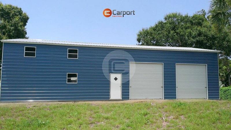 30x50 Prefab Metal Building