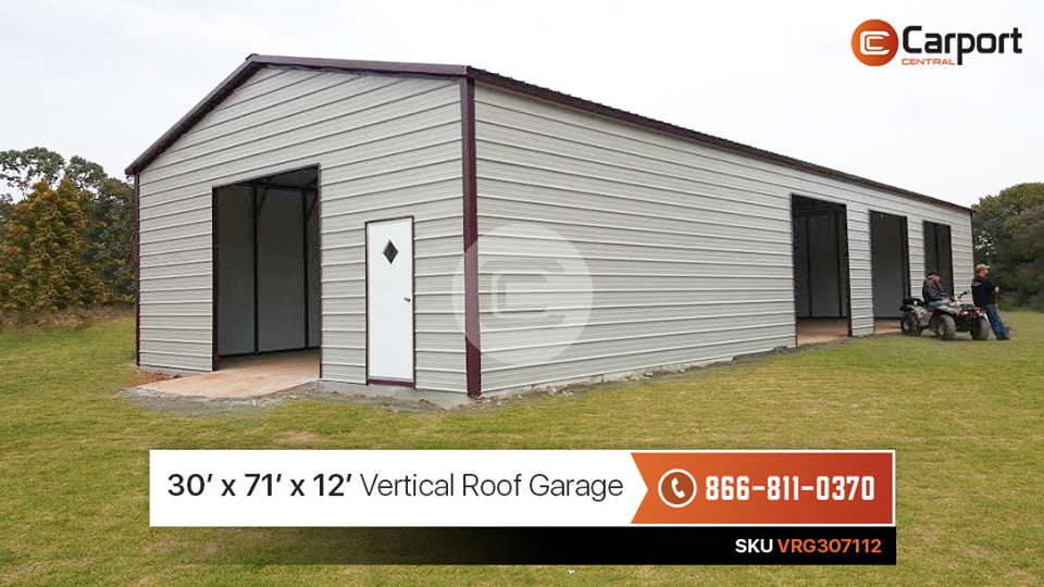 30x70 Commercial Garage Building
