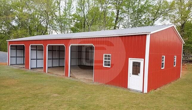 Metal garages for sale enclosed side entry garage prices for 40x40 garage for sale