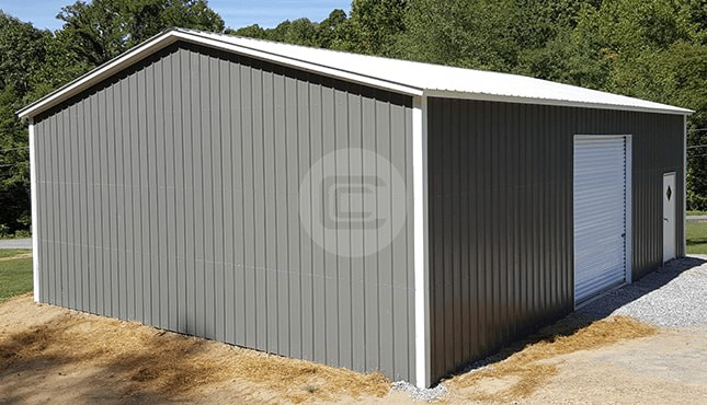 30×40 Metal Shop Building