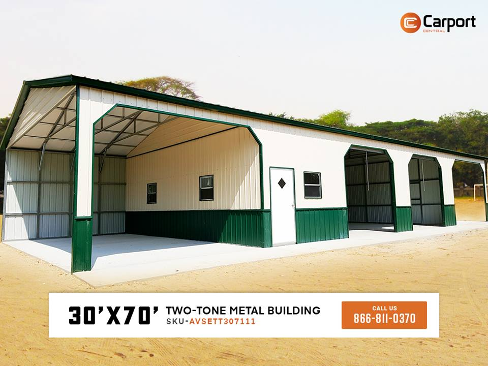 30x70 Custom Metal Building