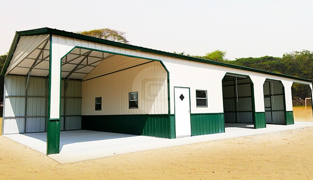 30×70 Custom Metal Building