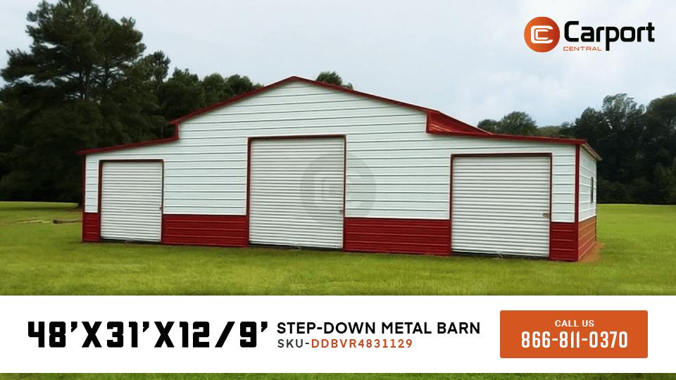 48×30 Farm Storage Barn