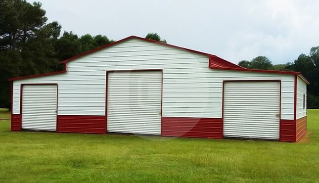 48×30 Farm Storage Barn