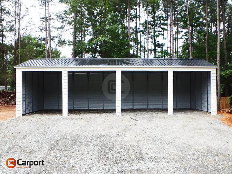 20x50 Four Car Garage