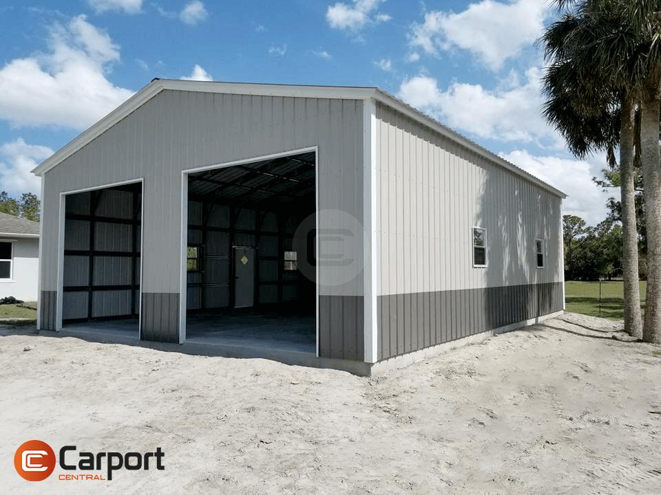 30×46 Metal Garage