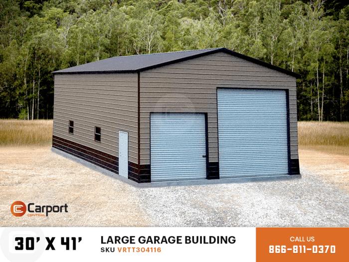 30x40 Large Garage Bulding