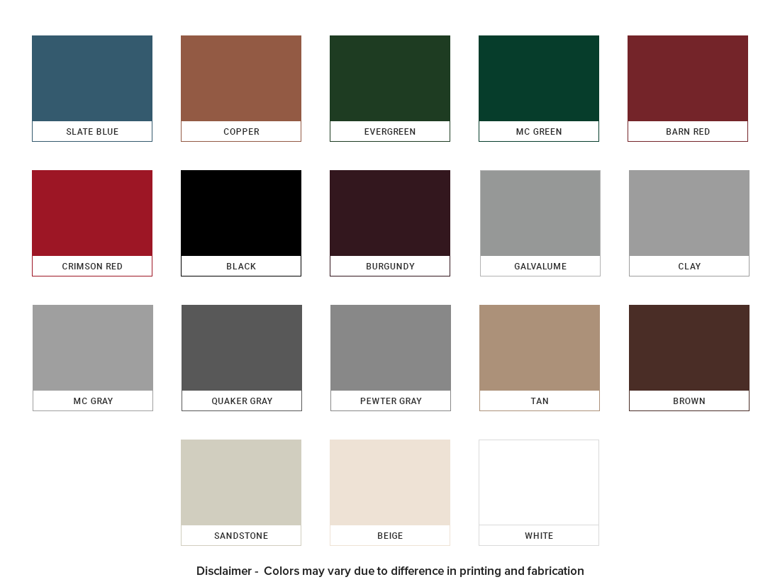Metal-Building-Colors-Chart
