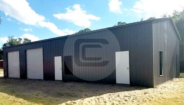 24×40 Metal Garage Building
