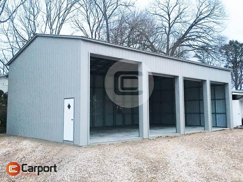 24x51 Side Entry Garage - Side