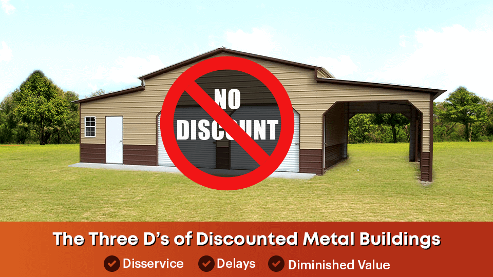 reality of discounted metal buildings