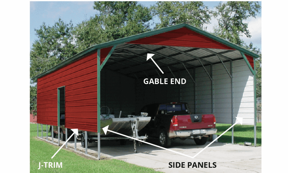 metal buildings north Texas, RV ports for sale in Texas, garage kits texas