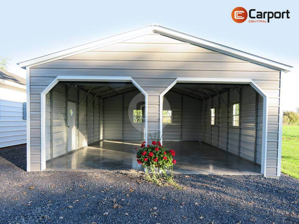 22×30 Two Car Garage