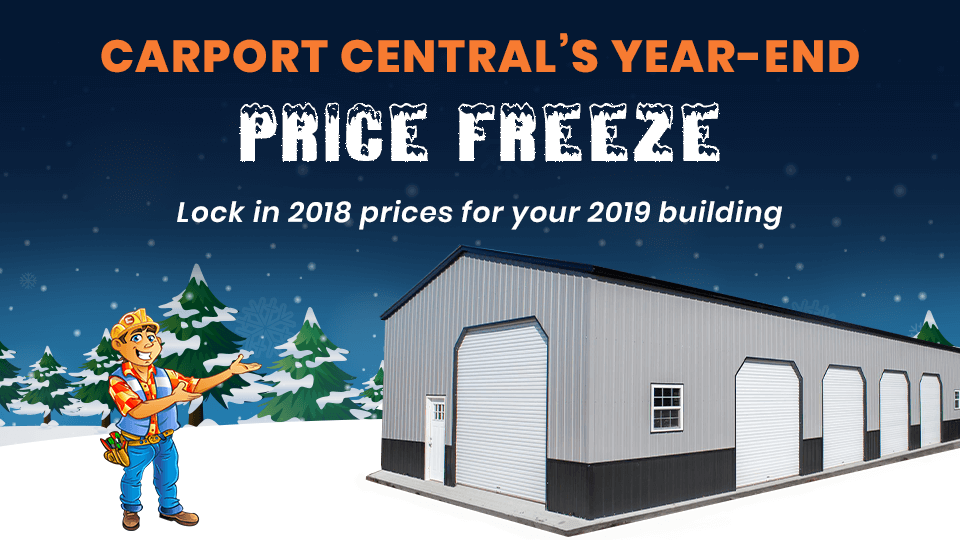 YEAR-END PRICE FREEZE!