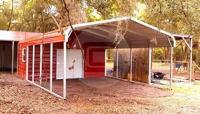 two-car-carport-kits