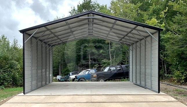 24x24 Carport