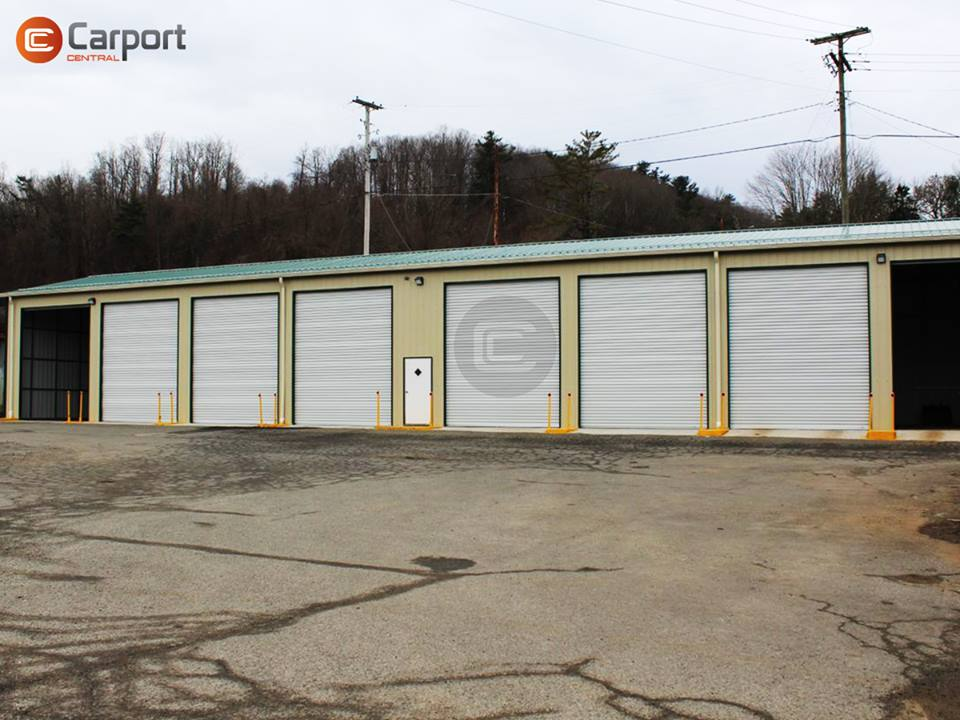 30x120 Commercial-Side-Entry-Garage