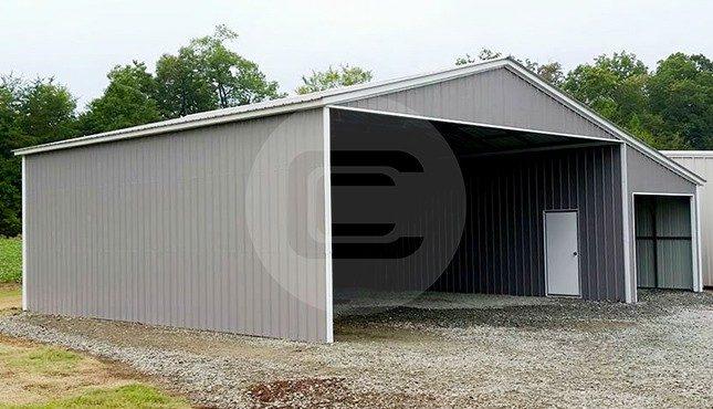 40x36 Lean-to Garage
