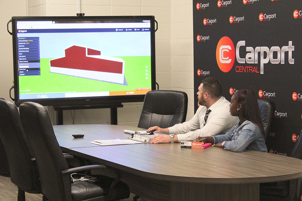 "Carport Central Partners With WSSU Marketing Majors To Share Some ""Real World"" Business Knowledge"