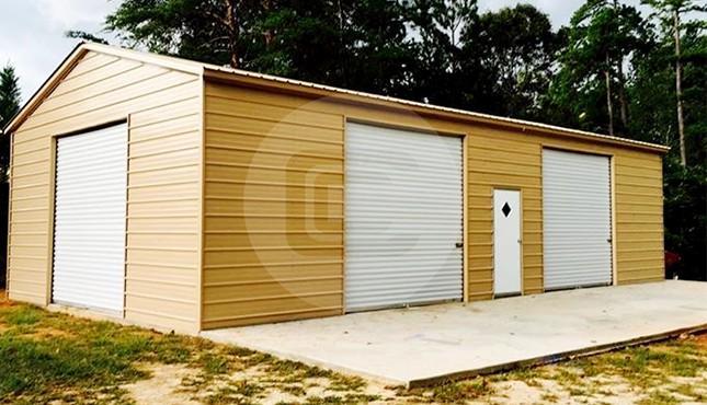 20 x 41 Steel Garage