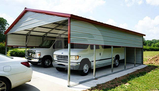 24 x 26 Metal Carport