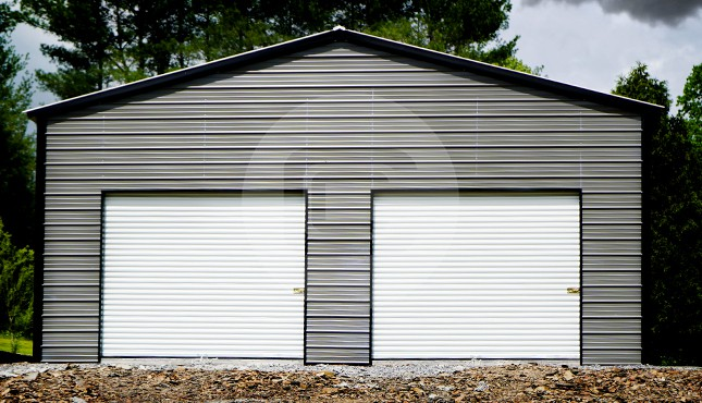 30x31 Metal Garage