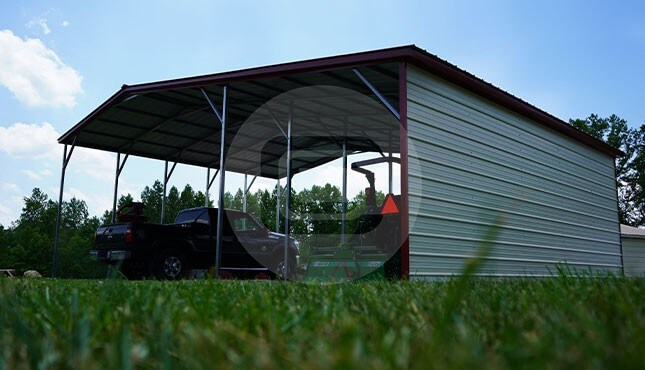 36 x 26 Vertical Carport