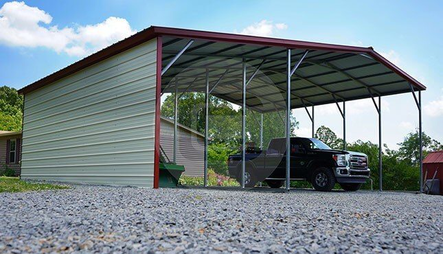 36x26 vertical carport