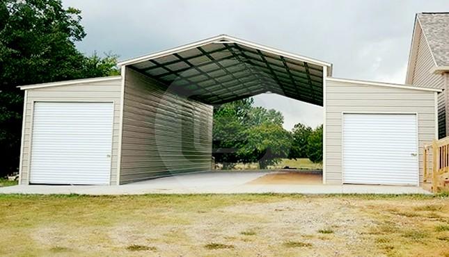 48x45 Steel Barn