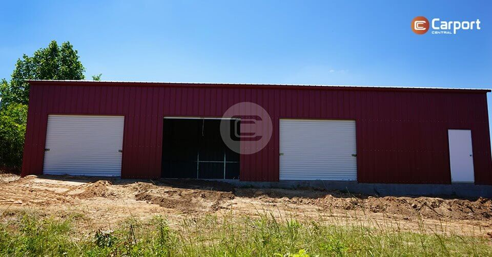 24x60 Side Entry Garage