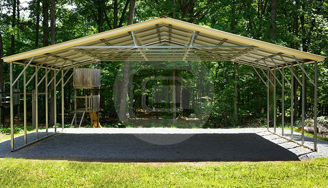 30x21 Metal Carport