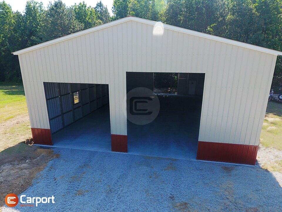 40x70 Metal Garage Building