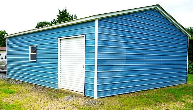 24x30 Metal Garage