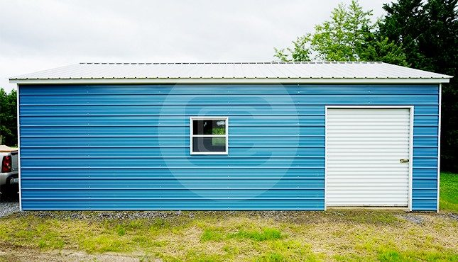 24x31 Metal Garage