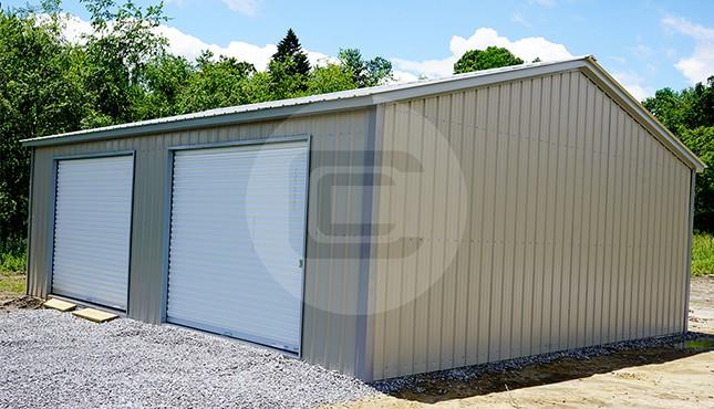 26x31 steel garage