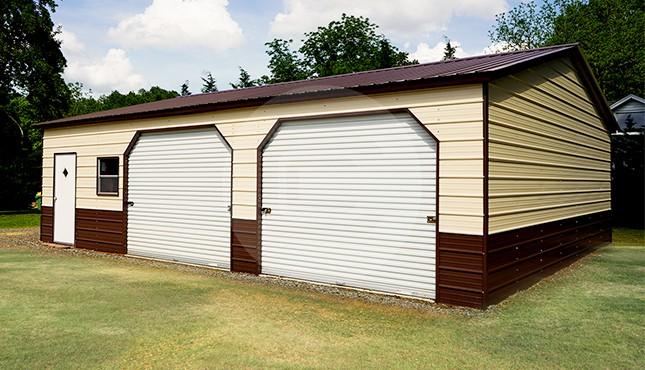 28x36 Steel Garage